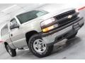 2002 Light Pewter Metallic Chevrolet Silverado 1500 LS Regular Cab 4x4  photo #1