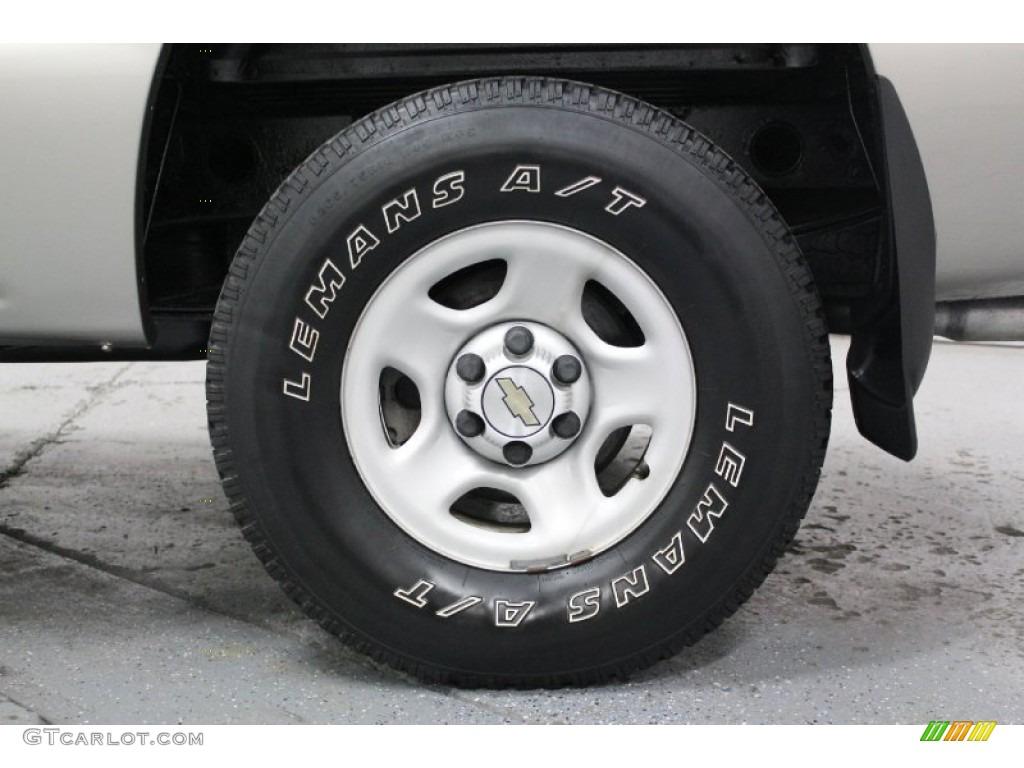 2002 Chevrolet Silverado 1500 LS Regular Cab 4x4 Wheel Photo #61507364