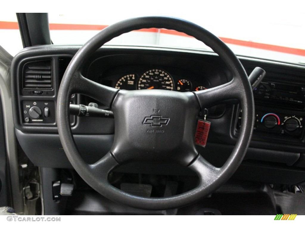2002 Chevrolet Silverado 1500 LS Regular Cab 4x4 Steering Wheel Photos