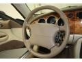 2006 Jaguar XK Cashmere Interior Steering Wheel Photo