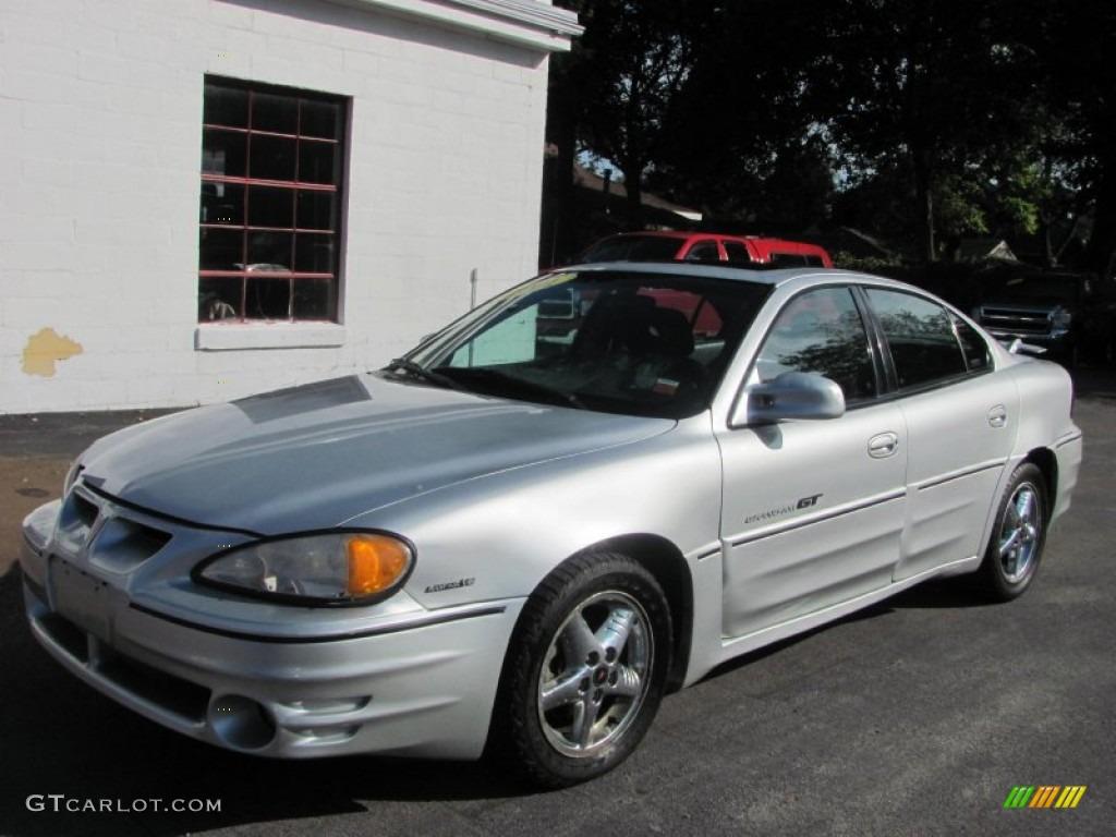 2001 Galaxy Silver Metallic Pontiac Grand Am GT Sedan