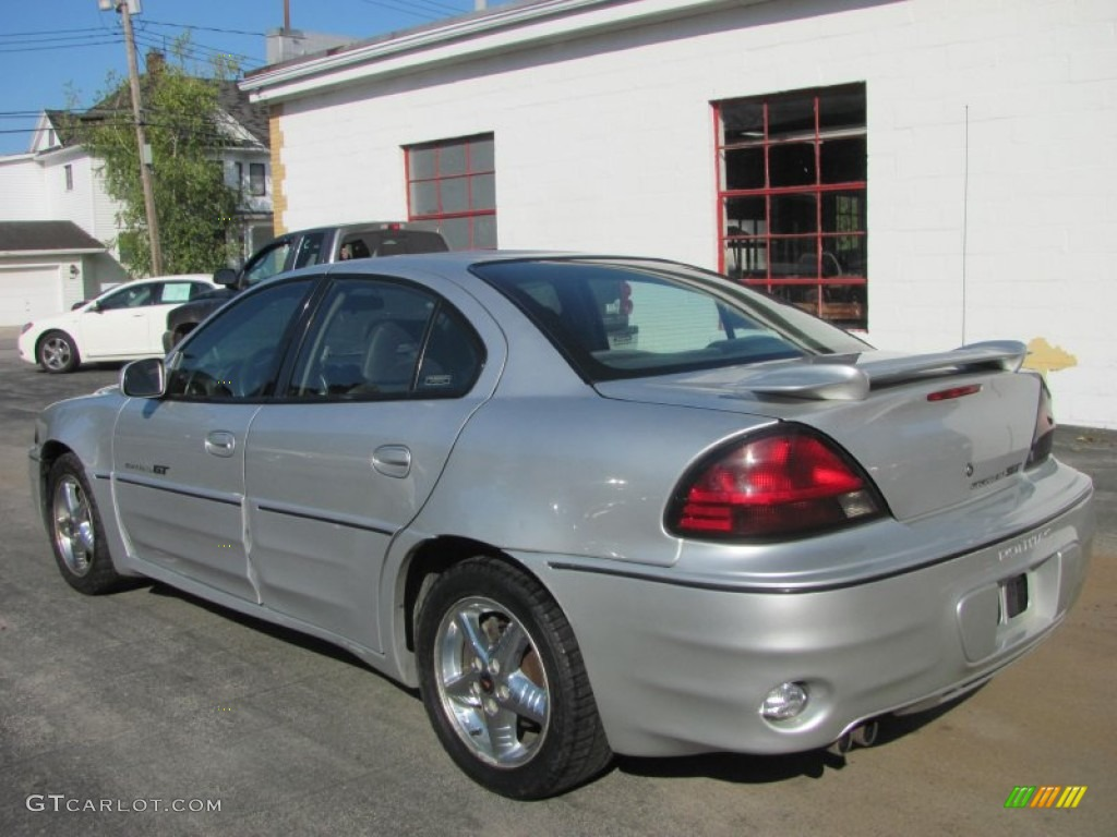 Galaxy Silver Metallic 2001 Pontiac Grand Am GT Sedan