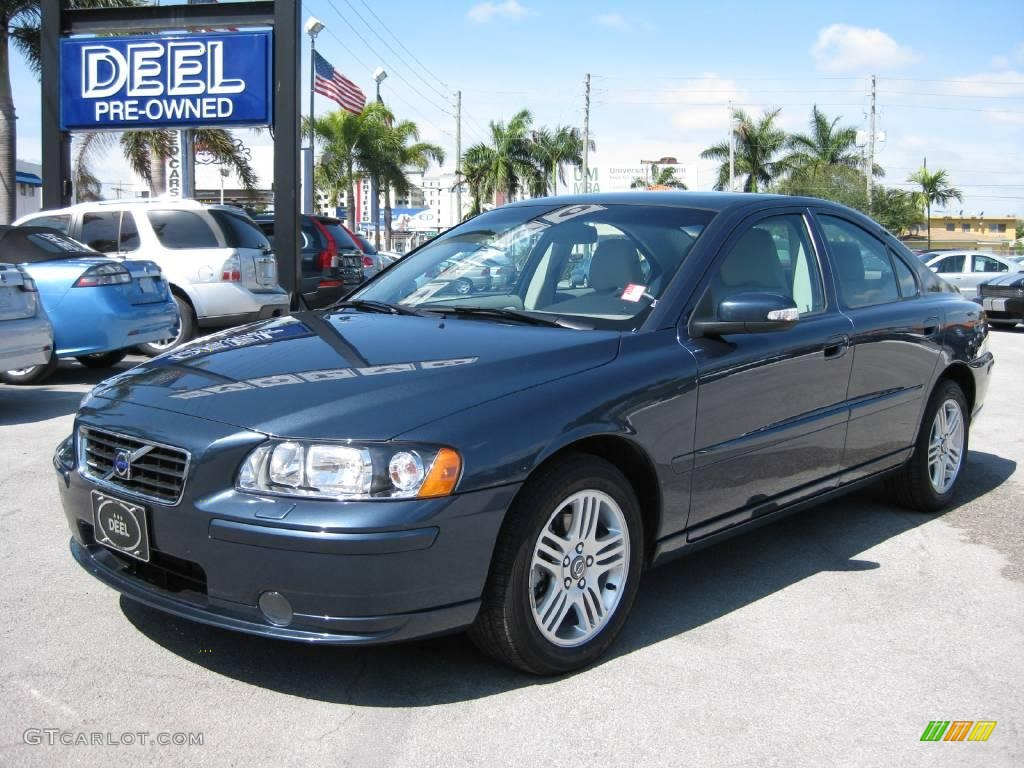 2008 barents blue metallic volvo s60 2 5t 6131593. Black Bedroom Furniture Sets. Home Design Ideas