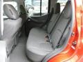 2012 Nissan Xterra Pro 4X Gray/Steel Interior Rear Seat Photo