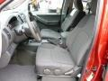 2012 Nissan Xterra Pro 4X Gray/Steel Interior Front Seat Photo
