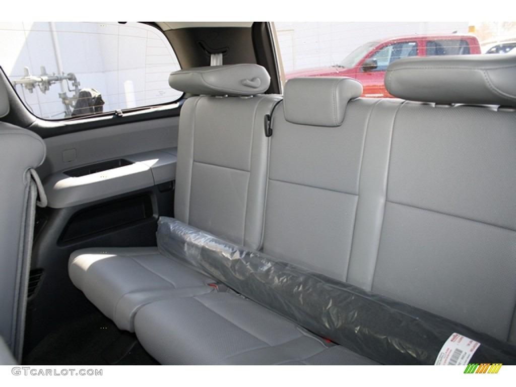 Graphite Gray Interior 2012 Toyota Sequoia Platinum 4wd Photo 61525813