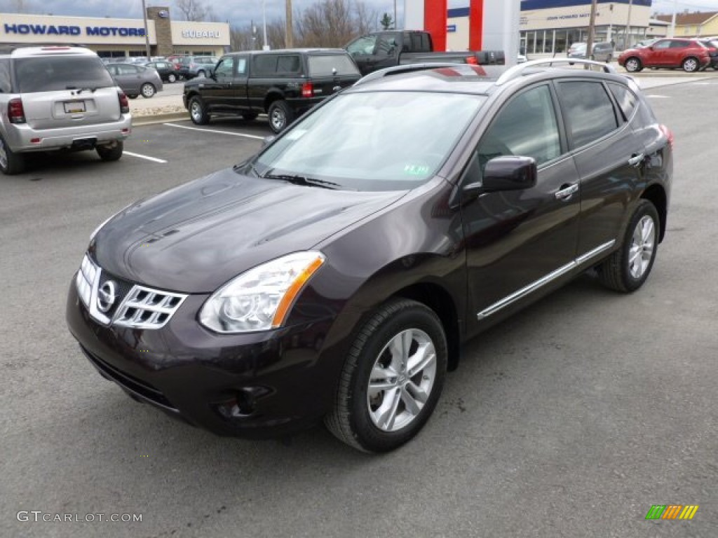 Black Amethyst 2012 Nissan Rogue Sv Awd Exterior Photo 61526242