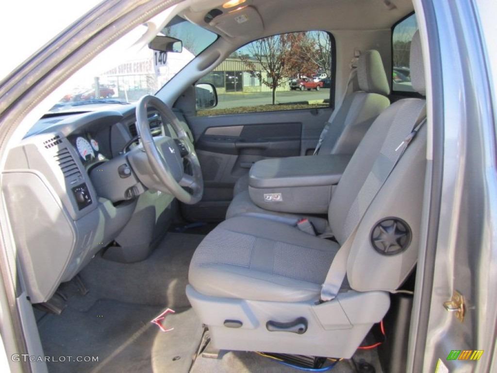 Medium Slate Gray Interior 2006 Dodge Ram 1500 Sport