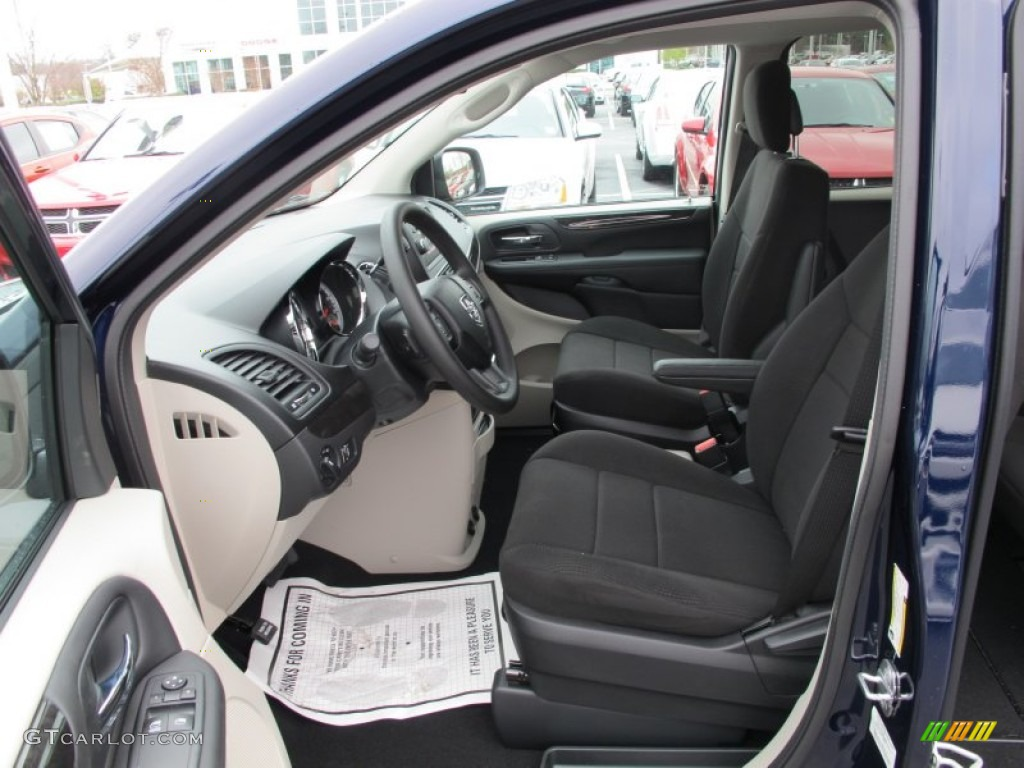 Black Light Graystone Interior 2012 Dodge Grand Caravan Se Photo 61539461