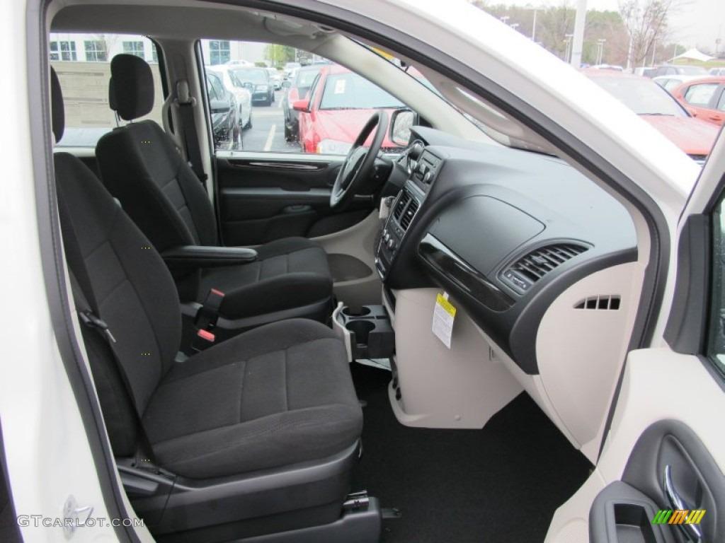 Black Light Graystone Interior 2012 Dodge Grand Caravan Se Photo 61539938