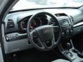 2011 Bright Silver Kia Sorento LX V6 AWD  photo #13