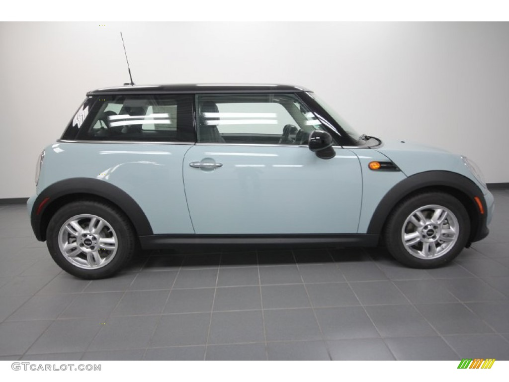 Ice Blue 2012 Mini Cooper Hardtop Exterior Photo #61546967