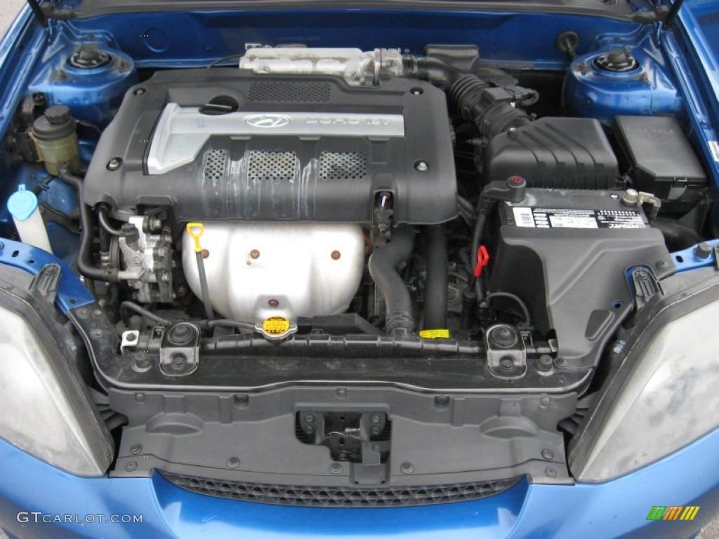 2005 Hyundai Tiburon Gs Engine Photos