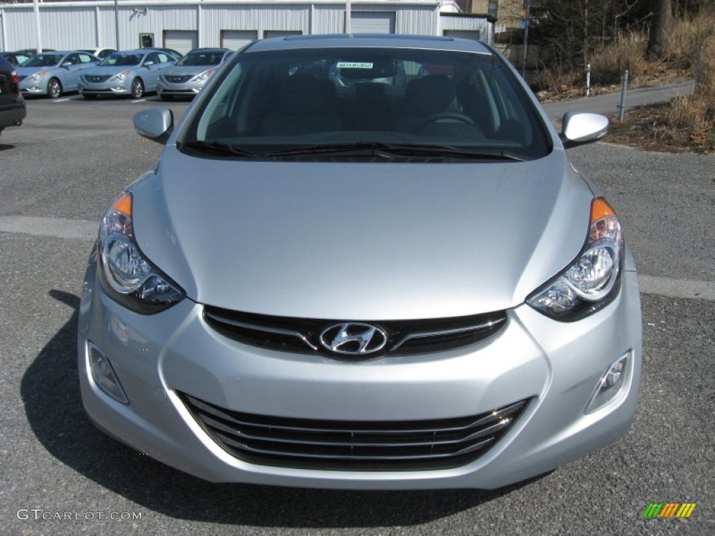 silver 2012 hyundai elantra limited exterior photo. Black Bedroom Furniture Sets. Home Design Ideas
