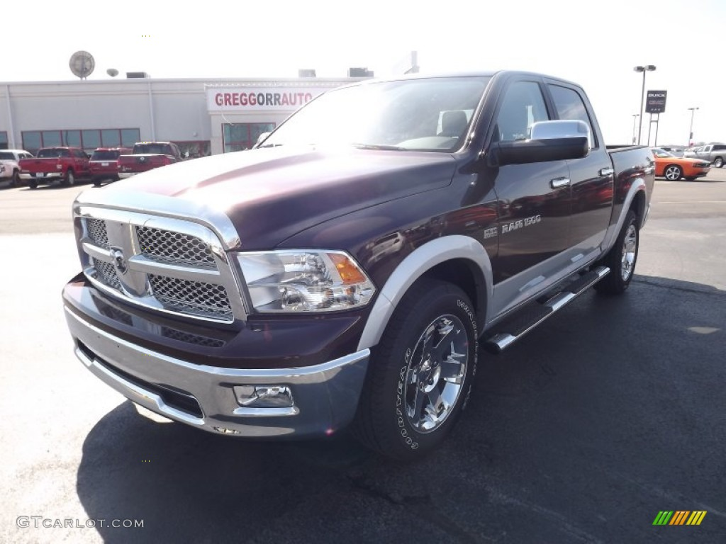 Deep Molten Red Pearl Dodge Ram 1500