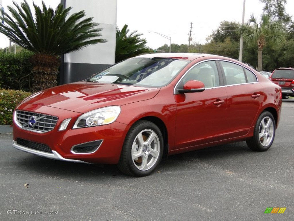flamenco red metallic 2012 volvo s60 t5 exterior photo 61562661. Black Bedroom Furniture Sets. Home Design Ideas