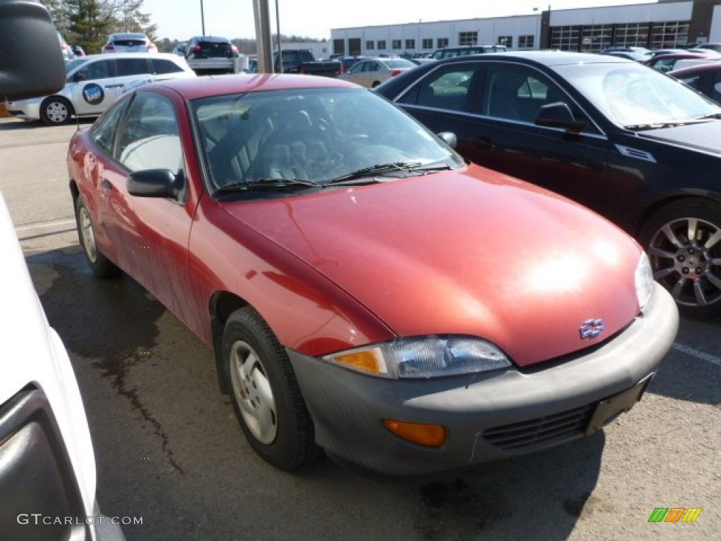 1999 Cavalier Coupe - Cayenne Red Metallic / Graphite photo #1