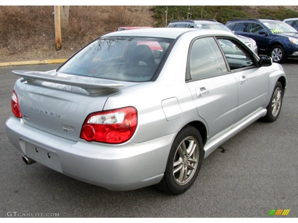 2001 Subaru Outback Custom >> Platinum Silver Metallic 2005 Subaru Impreza WRX Sedan Exterior Photo #61568394 | GTCarLot.com