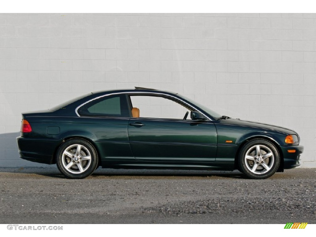 oxford green metallic 2002 bmw 3 series 325i coupe. Black Bedroom Furniture Sets. Home Design Ideas