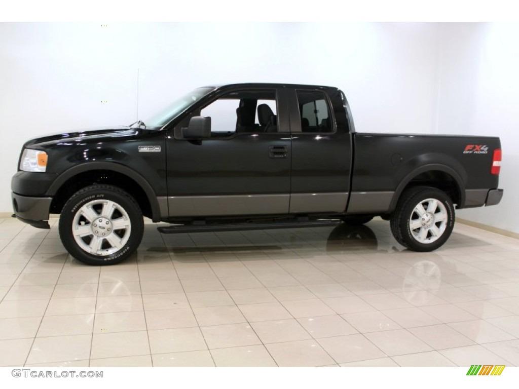 Black 2007 ford f150 fx4 supercab 4x4 exterior photo 61573404 gtcarlot com