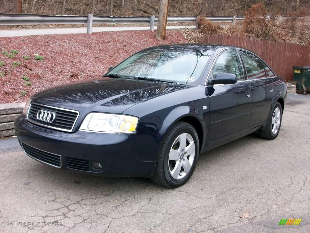 2004 night blue pearl effect audi a6 3 0 quattro sedan 6138241 car color galleries. Black Bedroom Furniture Sets. Home Design Ideas