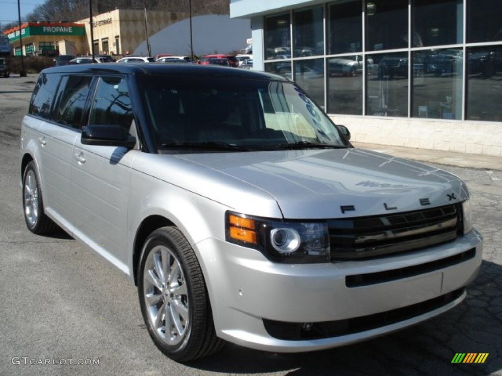 ingot silver metallic 2012 ford flex titanium ecoboost awd. Black Bedroom Furniture Sets. Home Design Ideas