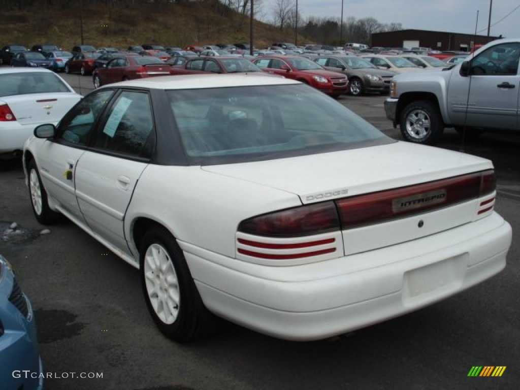 Stone White 1997 Dodge Intrepid Sedan Exterior Photo