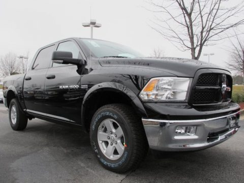 2012 Dodge Ram 1500 Mossy Oak Edition Crew Cab 4x4 Data, Info and Specs