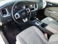Black/Light Frost Beige 2011 Dodge Charger Interiors