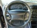 1999 Ford Explorer Medium Graphite Grey Interior Steering Wheel Photo