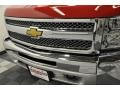 2012 Victory Red Chevrolet Silverado 1500 Work Truck Regular Cab 4x4  photo #4