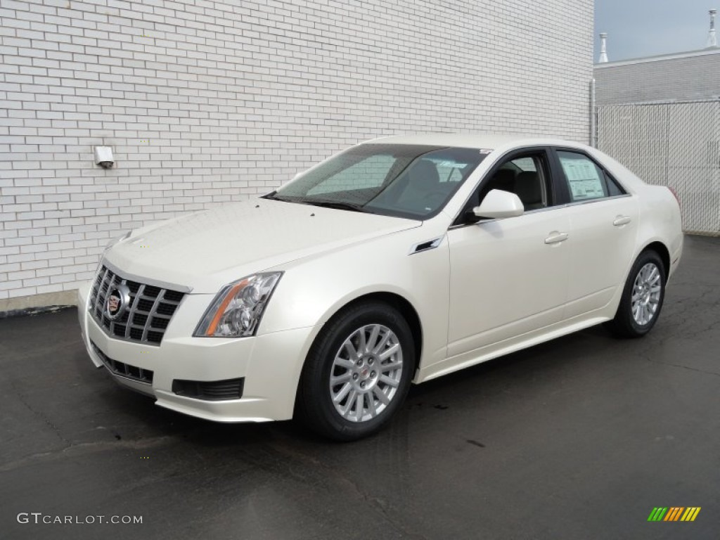2012 white diamond tricoat cadillac cts 3 0 sedan 61580234 photo 4 car color. Black Bedroom Furniture Sets. Home Design Ideas