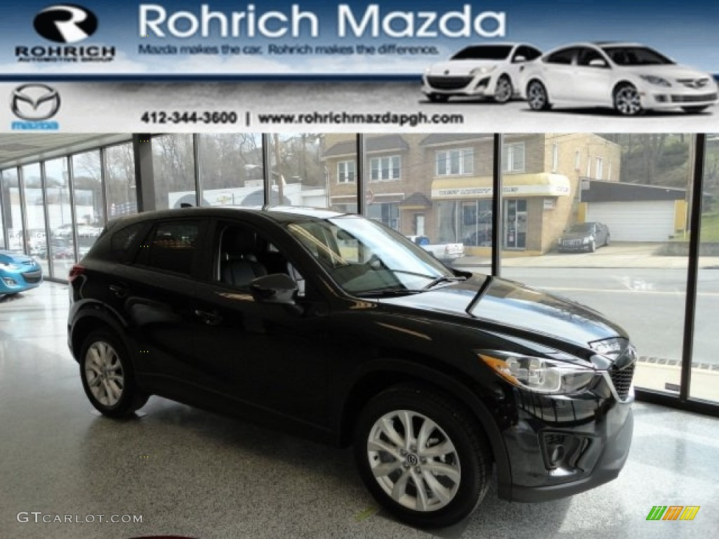 2013 black mica mazda cx 5 grand touring awd 61580214 car color galleries. Black Bedroom Furniture Sets. Home Design Ideas
