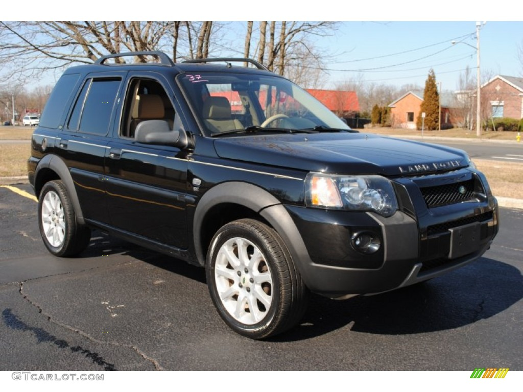 Java Black Pearl 2005 Land Rover Freelander SE Exterior Photo ...