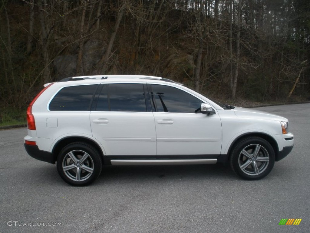Ice white 2011 volvo xc90 3 2 r design awd exterior photo 61612053