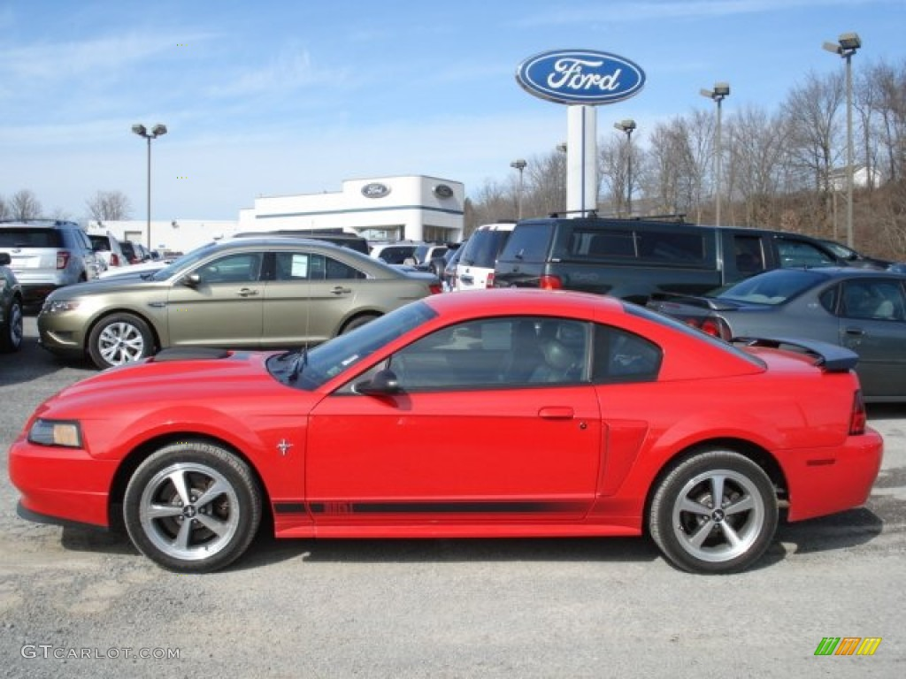torch red 2003 ford mustang mach 1 coupe exterior photo. Black Bedroom Furniture Sets. Home Design Ideas