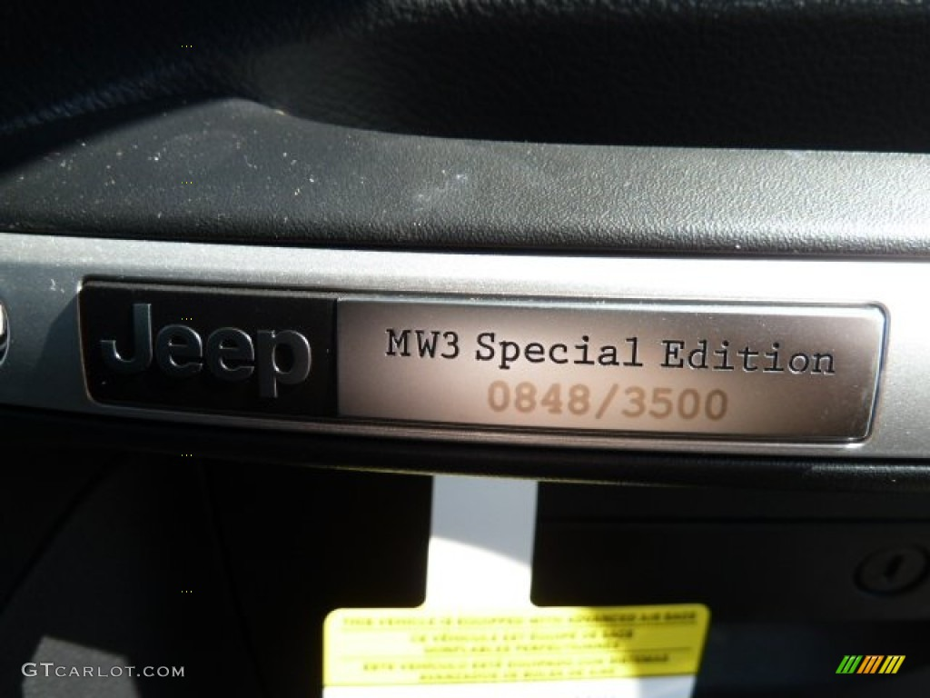 2012 Jeep Wrangler Call Of Duty Mw3 Edition 4x4 Mw3 Special Edition