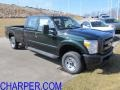 2012 Forest Green Metallic Ford F250 Super Duty XL Crew Cab 4x4  photo #1