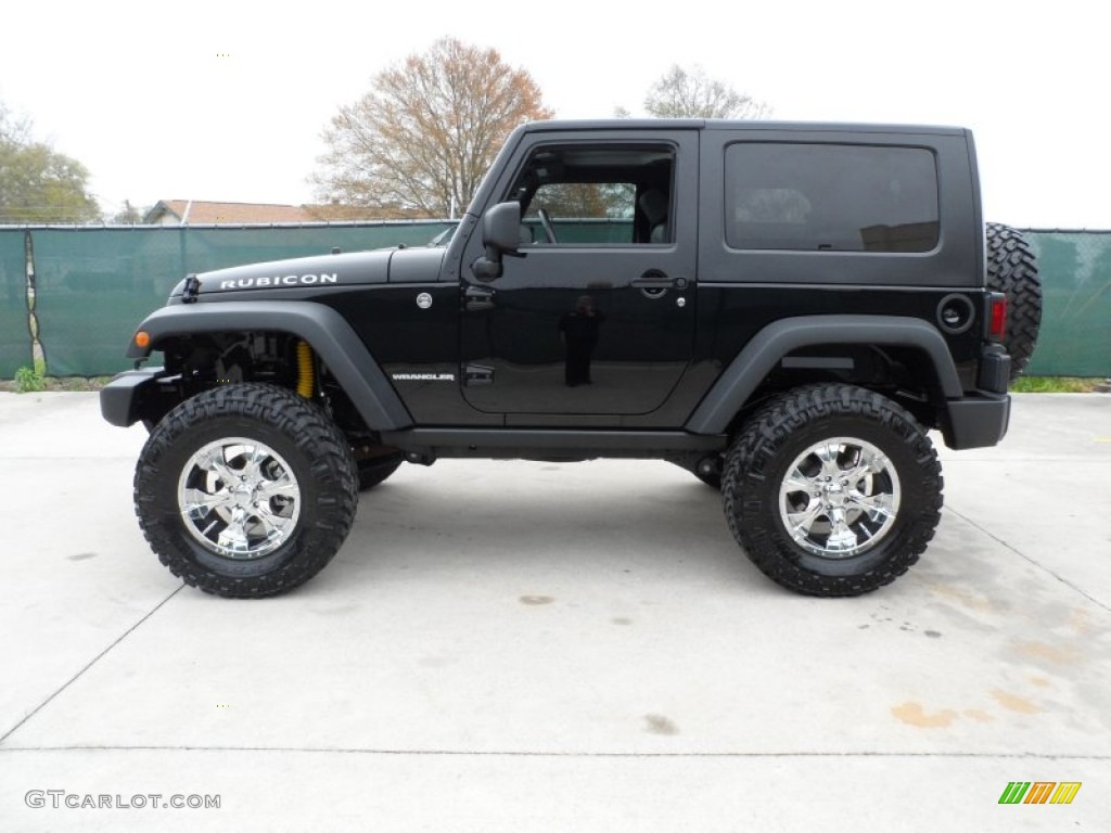 2010 Jeep Wrangler Rubicon 4x4 Custom Wheels Photo 61642967 Gtcarlot Com
