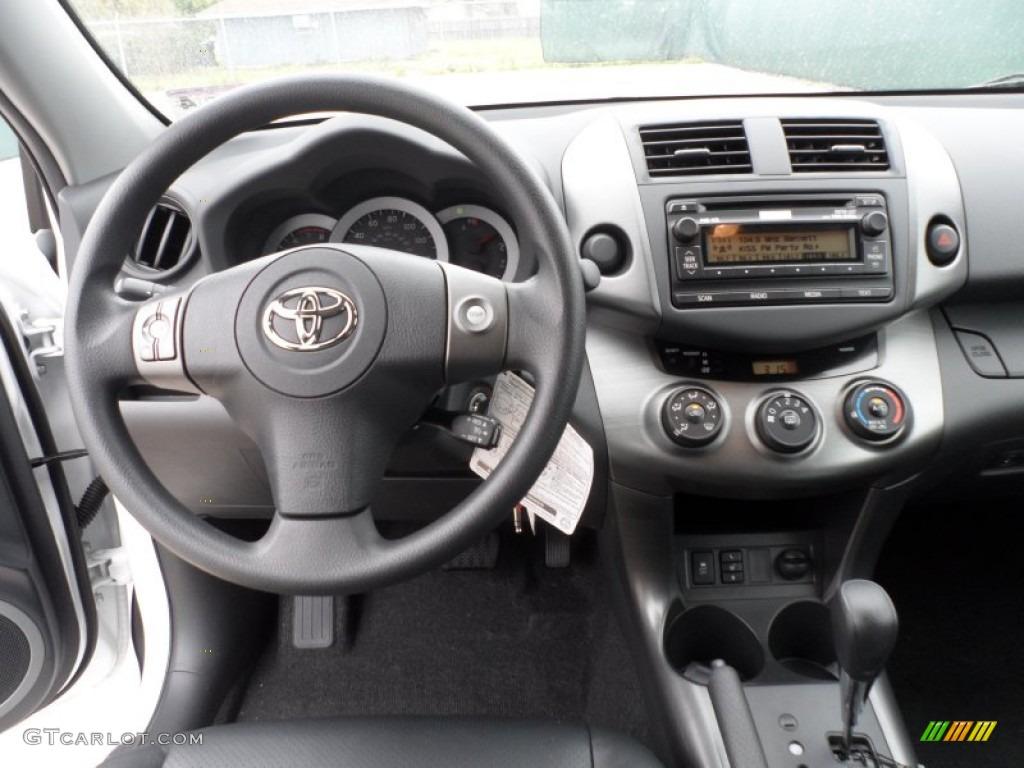 2012 Toyota RAV4 V6 Sport Dark Charcoal Dashboard Photo #61643369 ...