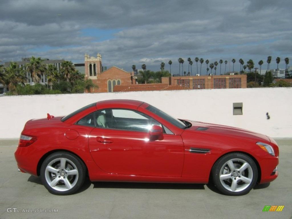mars red 2012 mercedes benz slk 250 roadster exterior photo 61647214. Black Bedroom Furniture Sets. Home Design Ideas