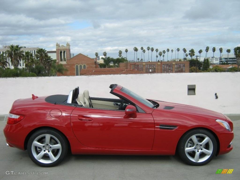 mars red 2012 mercedes benz slk 250 roadster exterior photo 61647243. Black Bedroom Furniture Sets. Home Design Ideas