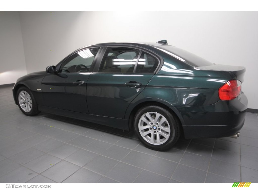 deep green metallic 2006 bmw 3 series 325i sedan exterior. Black Bedroom Furniture Sets. Home Design Ideas