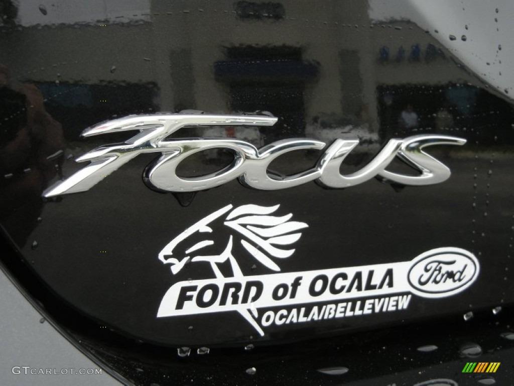 2012 Focus S Sedan - Tuxedo Black Metallic / Charcoal Black photo #4
