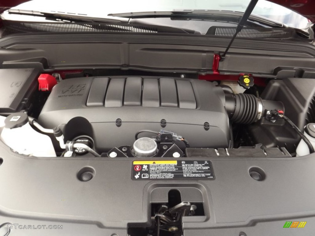 Engine on 2007 gmc acadia sle with