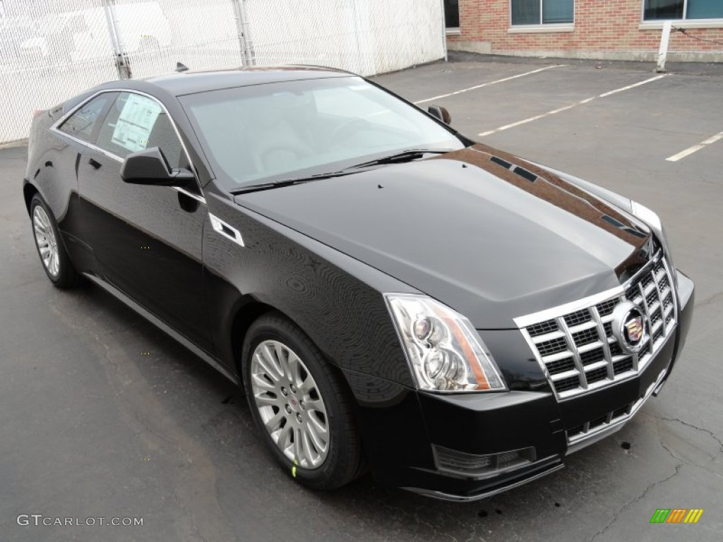 Black Raven 2012 Cadillac Cts Coupe Exterior Photo