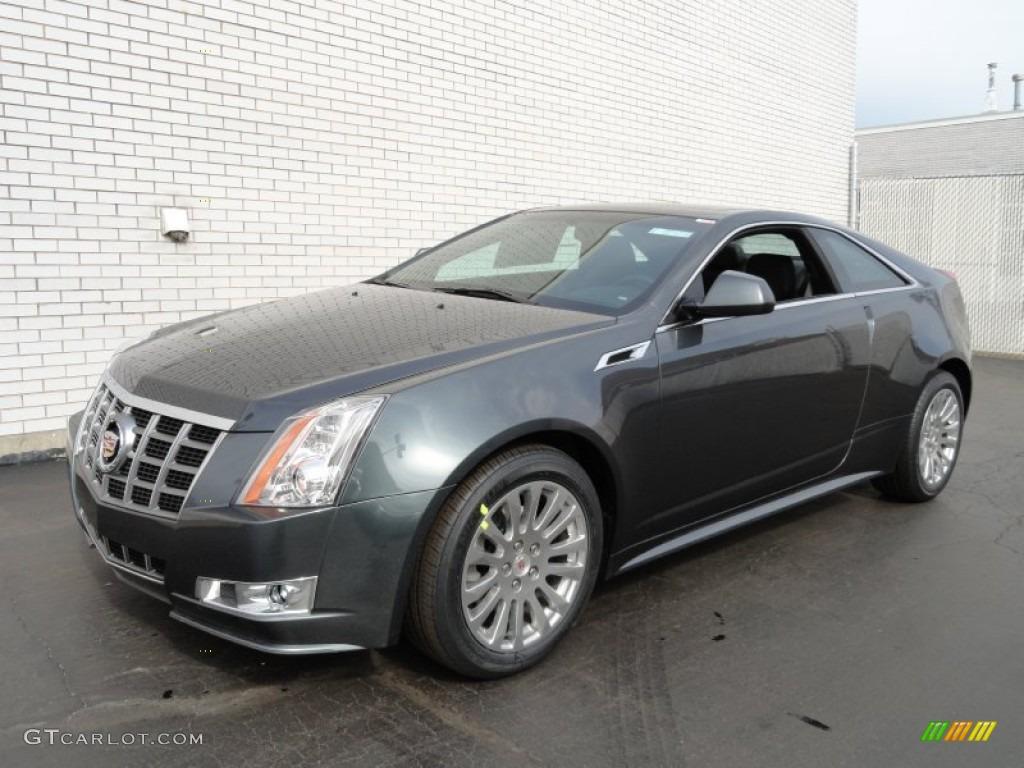 Thunder Gray Chromaflair 2012 Cadillac Cts 4 Awd Coupe