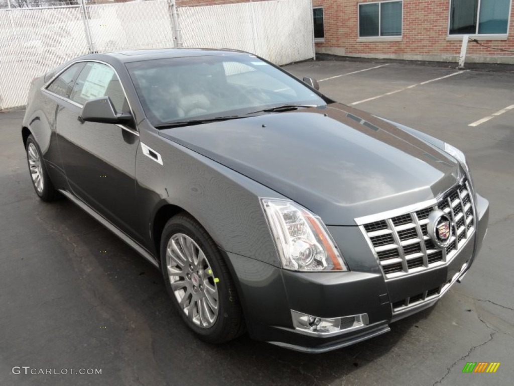 Thunder Gray Chromaflair 2012 Cadillac Cts 4 Awd Coupe