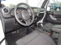 Black Interior Photo for 2011 Jeep Wrangler #61665078