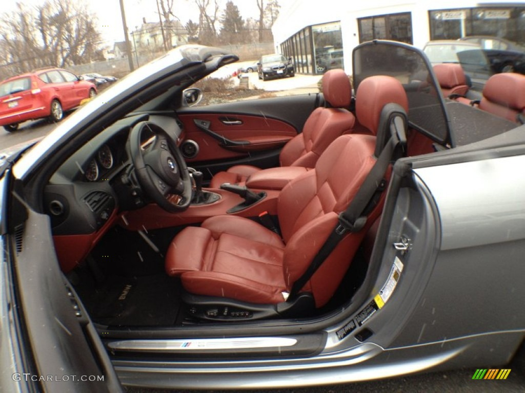 Indianapolis Red Interior 2007 Bmw M6 Convertible Photo 61666039